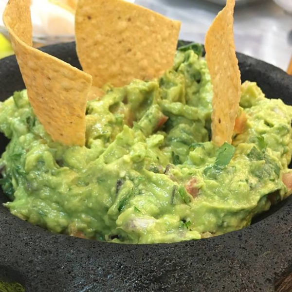 Homemade Table Side Guacamole