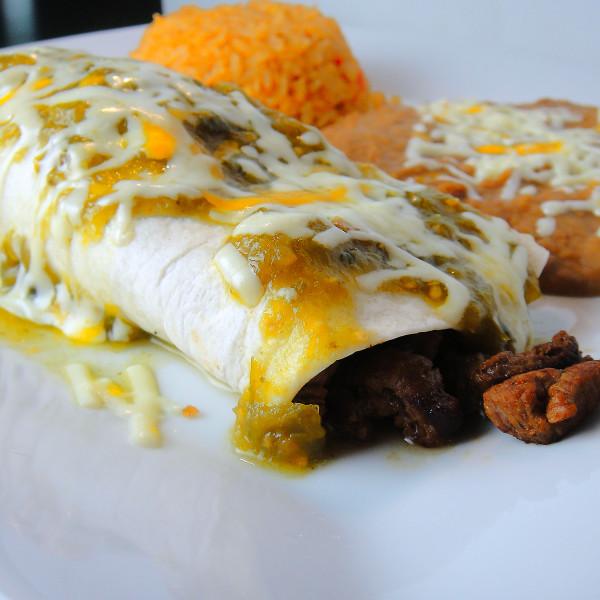 Burrito Chile Verde