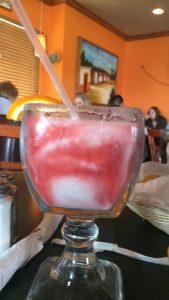 strawberry pina colada frozen margarita